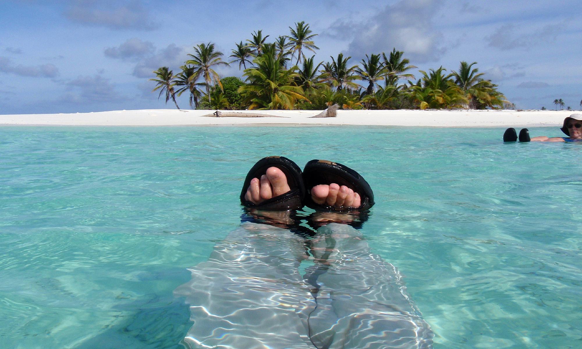 Adrift in the Indian Ocean